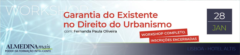 Garantia do Existente no Direito do Urbanismo 3ª
