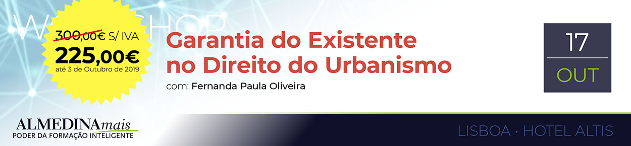 Garantia do Existente no Direito do Urbanismo