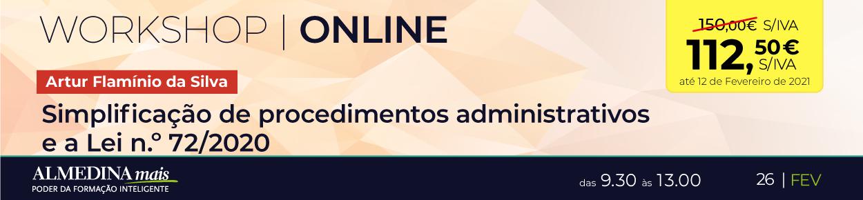 A simplificação de procedimentos administrativos e a Lei n.º 72/2020