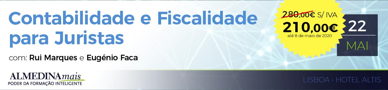 Contabilidade e Fiscalidade para Juristas com EBR
