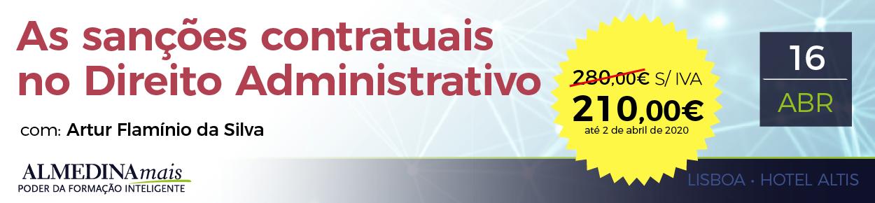 As sanções contratuais no Direito Administrativo com EBR