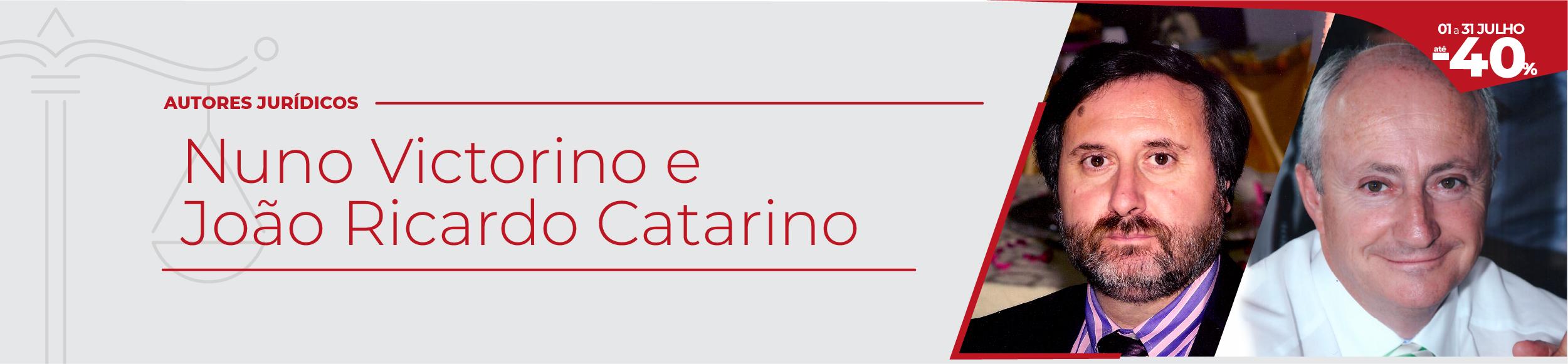 Autor Jurídico em destaque- João Catarino e Nuno Victorino
