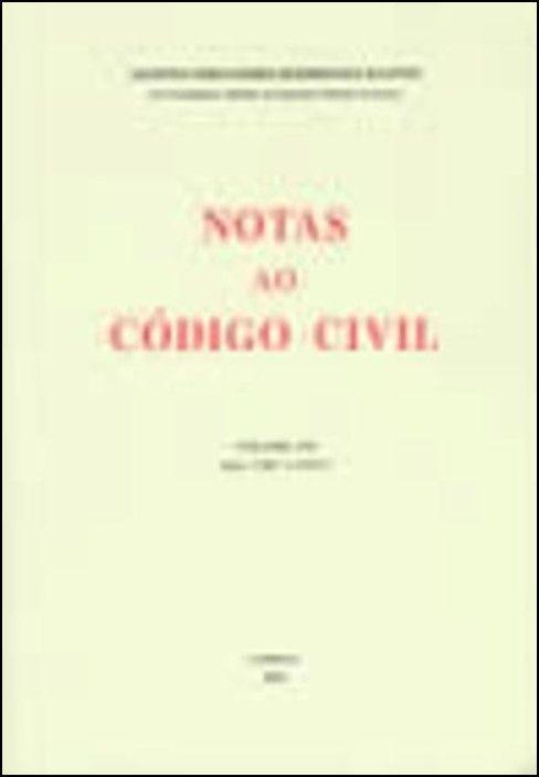 Notas ao Código Civil - Vol I