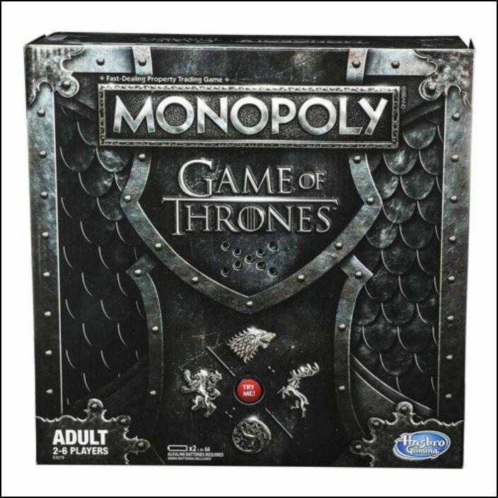 Monopoly: Game of Thrones Sound Edition - Jogo de Tabuleiro