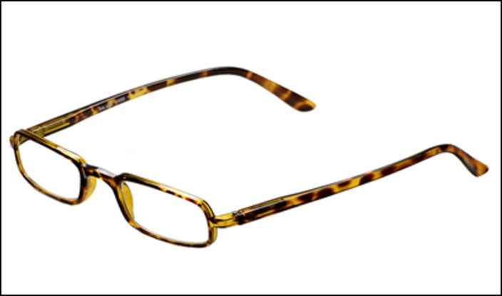 Óculos Rect Ecaille 1,50