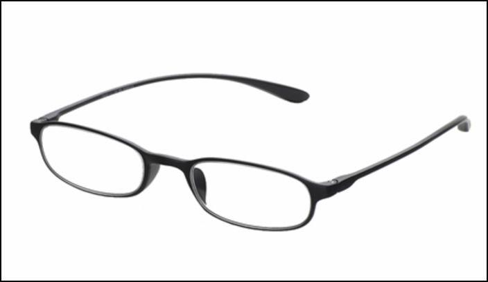 Oculos Flexible Black 1,75