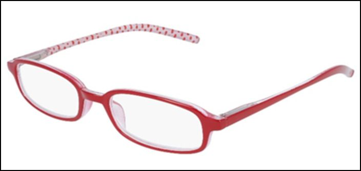 Oculos Red Spots 1,25