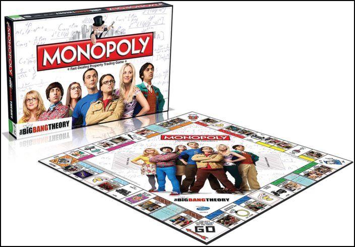 Monopoly The Big Bang Theory (PT)