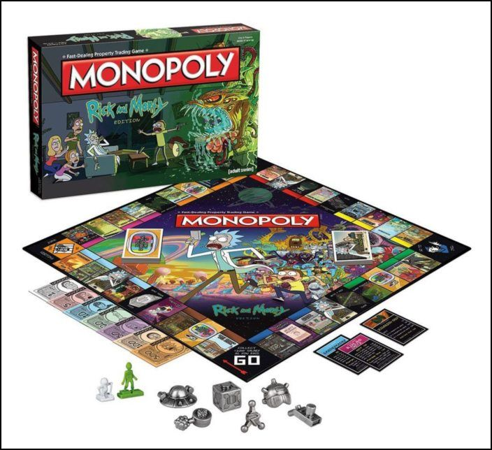 Monopoly Rick and Morty (PT)