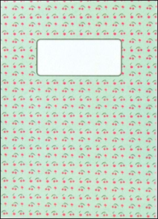 Caderno - Cerejas