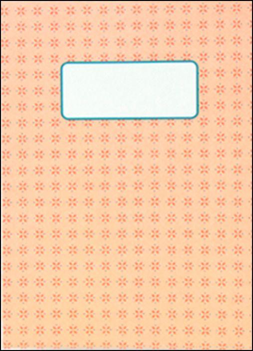 Caderno - Azulejo Salmão