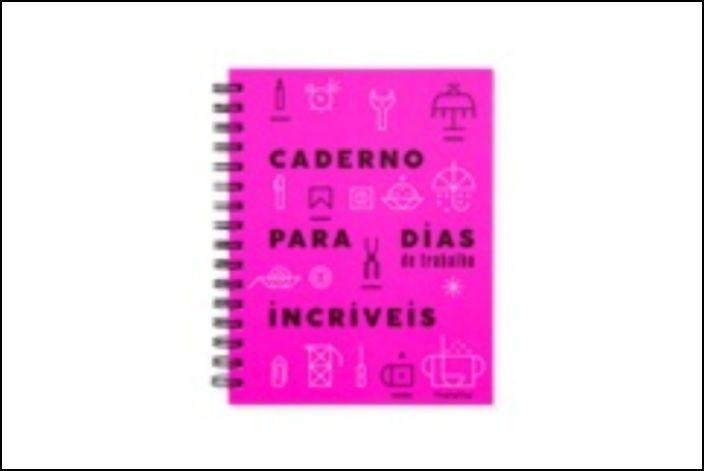 Caderno para Dias de Trabalho Incríveis