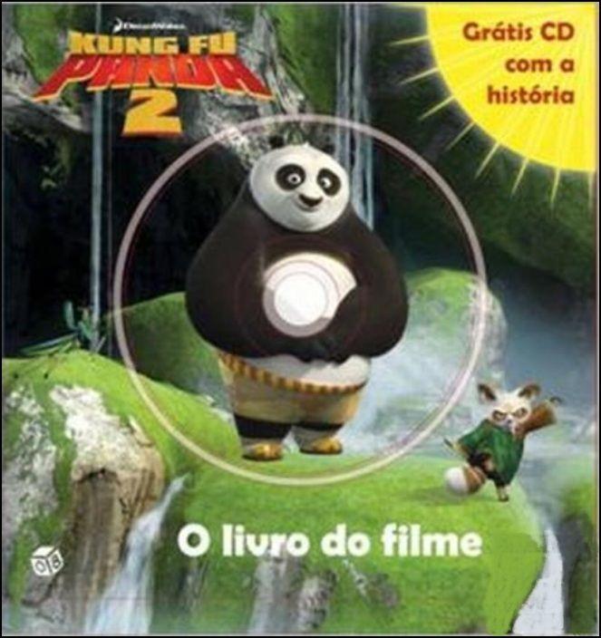 Kung Fu Panda 2 - A História do Filme - Livro com CD