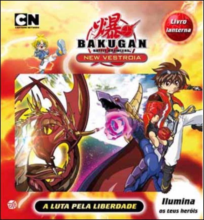 Bakugan: A Luta pela Liberdade - Livro de Histórias com Lanterna