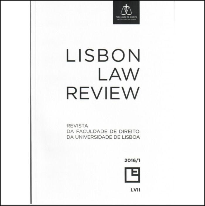 Revista da Faculdade de Direito da Universidade de Lisboa - LVII Volume I