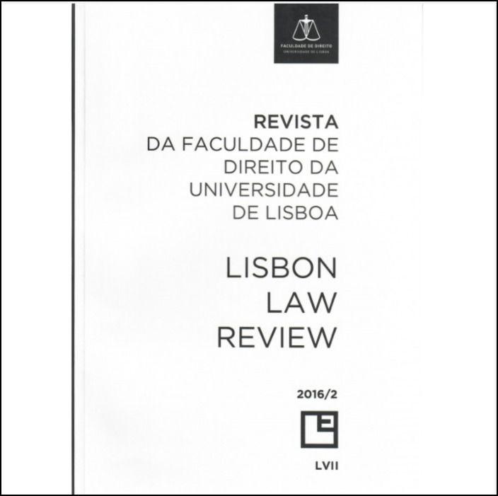 Revista Da Faculdade de Direito da Universidade de Lisboa - LVII Volume II