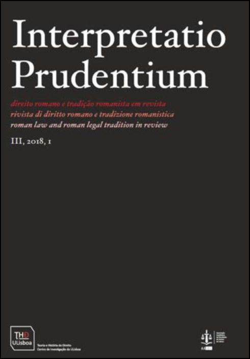 Interpretatio Prudentium Ano III - N.º 1