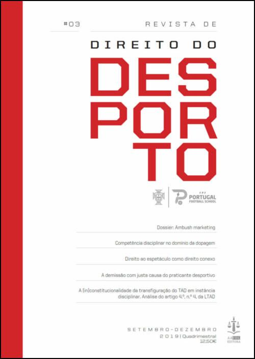 Revista de Direito do Desporto N.º 3