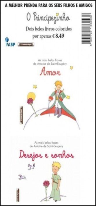 O Principezinho- Pack Amor+ Desejo e Sonhos