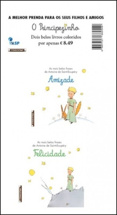 O Principezinho- Pack Amizade + Felicidade