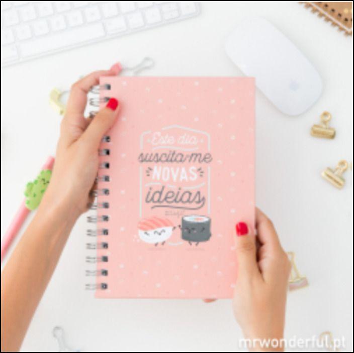 Caderno - Este Dia Suscita-me Novas Ideias