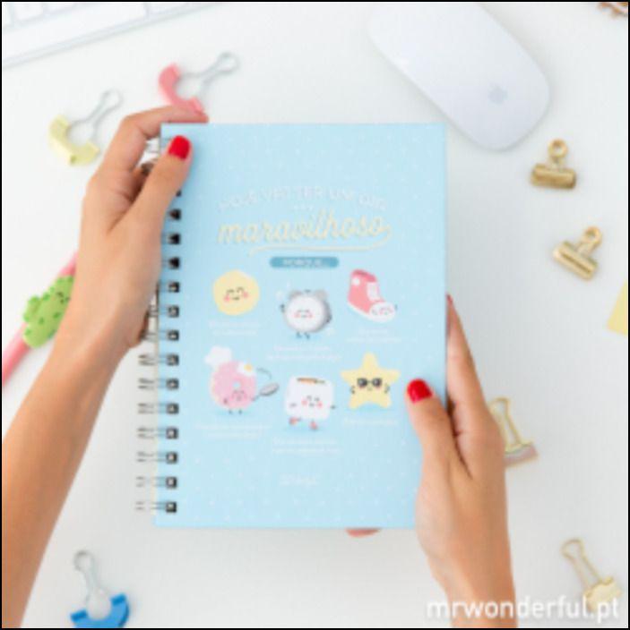 Caderno - Hoje Vai Ser um Dia Maravilhoso