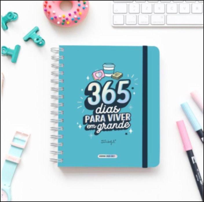 Agenda Sketch 2020-2021 Vista Semanal - 365 Dias para Viver em Grande