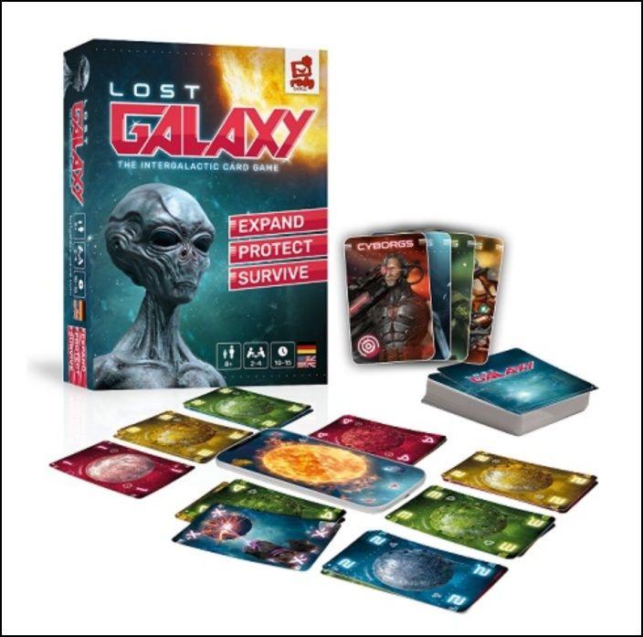Lost Galaxy: Jogo de Cartas Intergalático (PT)