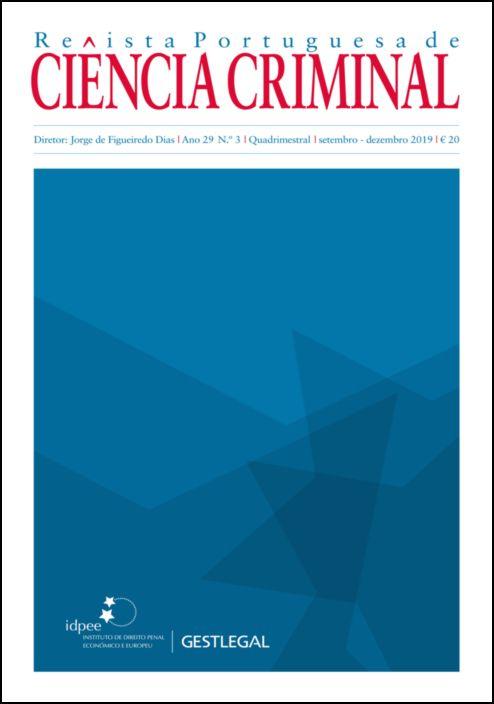 Revista Portuguesa de Ciência Criminal – Ano 29.º – N.º 3