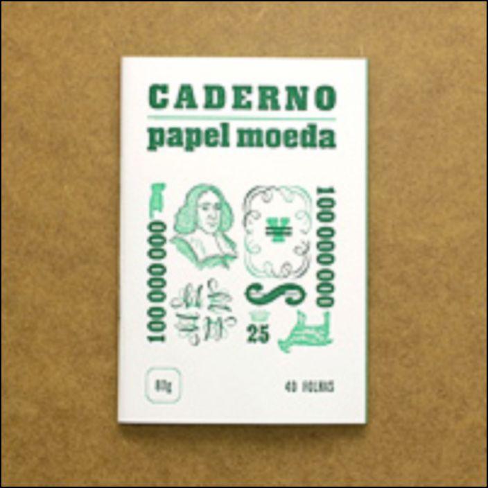 Caderno Papel-Moeda