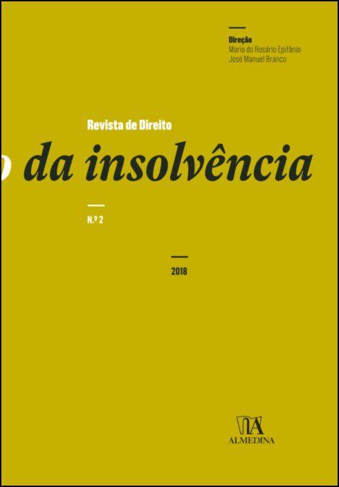 Revista de Direito da Insolvência n.º 2 (2018)