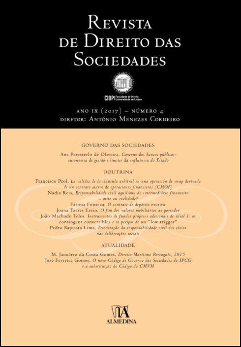 Revista de Direito das Sociedades, Ano IX (2017) - Número 4
