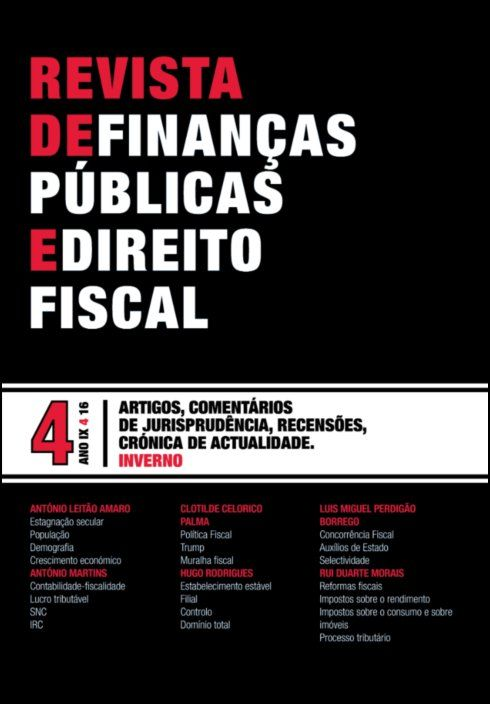 Revista de Finanças Públicas e Direito Fiscal - Ano IX - Número 4 - INverno