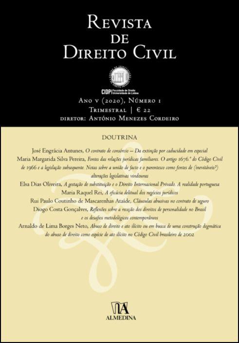 Revista de Direito Civil nº 1 (2020)