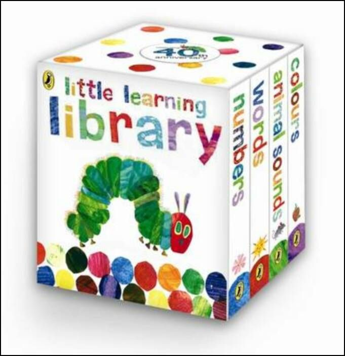 Learn with the Very Hungry Caterpillar