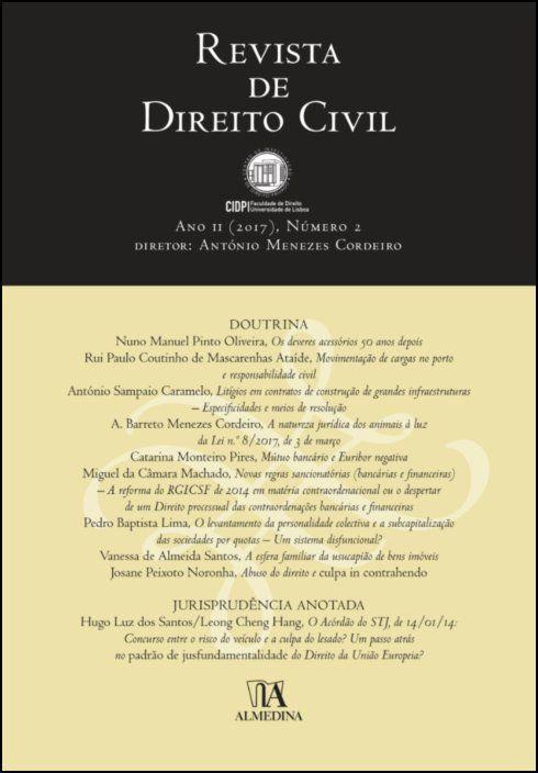 Revista de Direito Civil n.º 2 (2017)