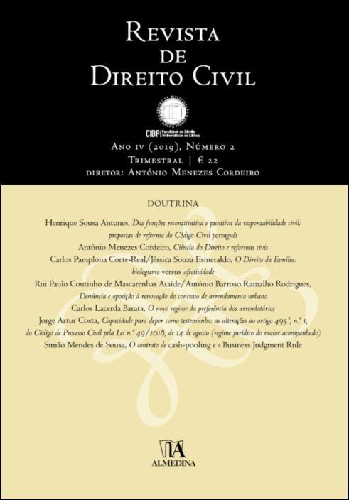 Revista de Direito Civil n.º 2 (2019)
