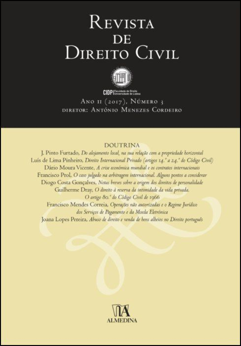 Revista de Direito Civil n.º 3 (2017)