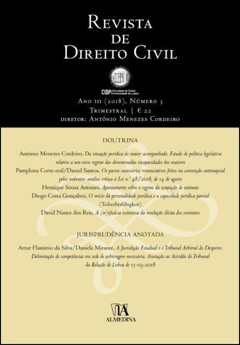 Revista de Direito Civil n.º 3 (2018)