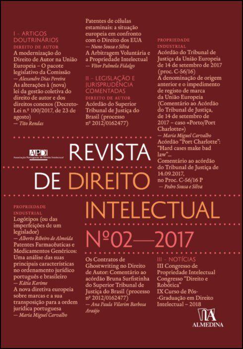 Revista de Direito Intelectual n.º 2 - 2017