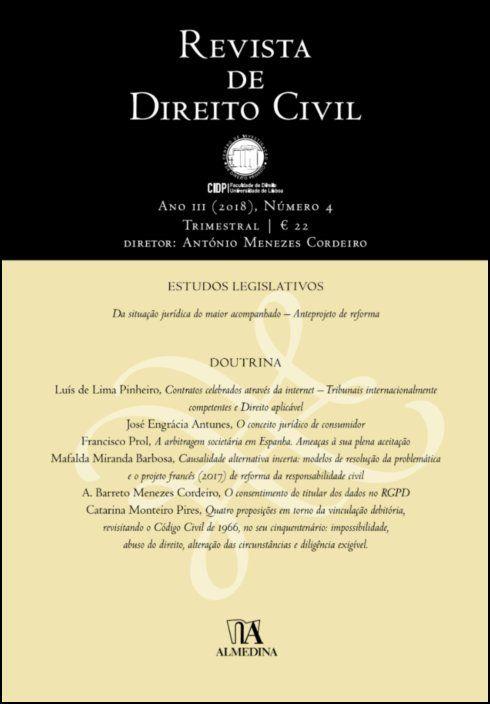 Revista de Direito Civil n.º 4 (2018)