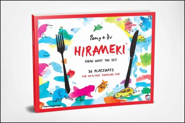 Hirameki: 36 Placemats: Draw What You See