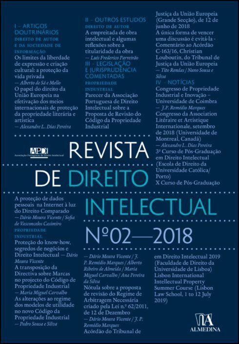 Revista de Direito Intelectual n.º 2 - 2018
