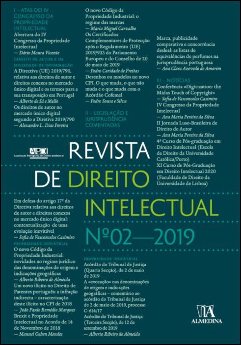 Revista de Direito Intelectual n.º 2 - 2019