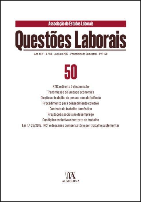 Questões Laborais n.º 50