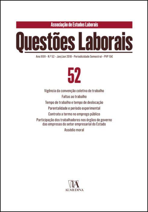Questões Laborais n.º 52