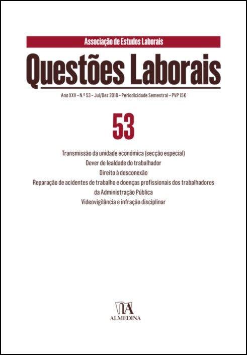 Questões Laborais n.º 53