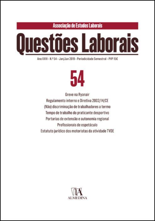 Questões Laborais n.º 54