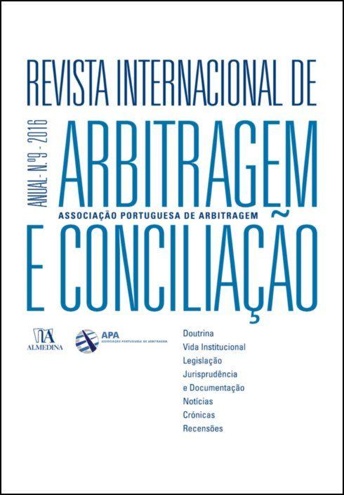 Revista Internacional de Arbitragem e Conciliação - Ano IX - 2016