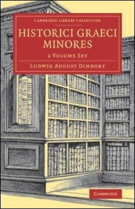 Historici Graeci Minores - 2 Volume Set
